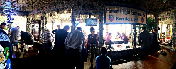 What goes up, must come down: Johnson Creek Tavern donates dollars to charity