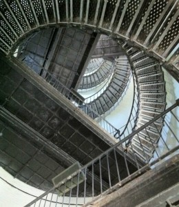 It's only 167 steps to the top.