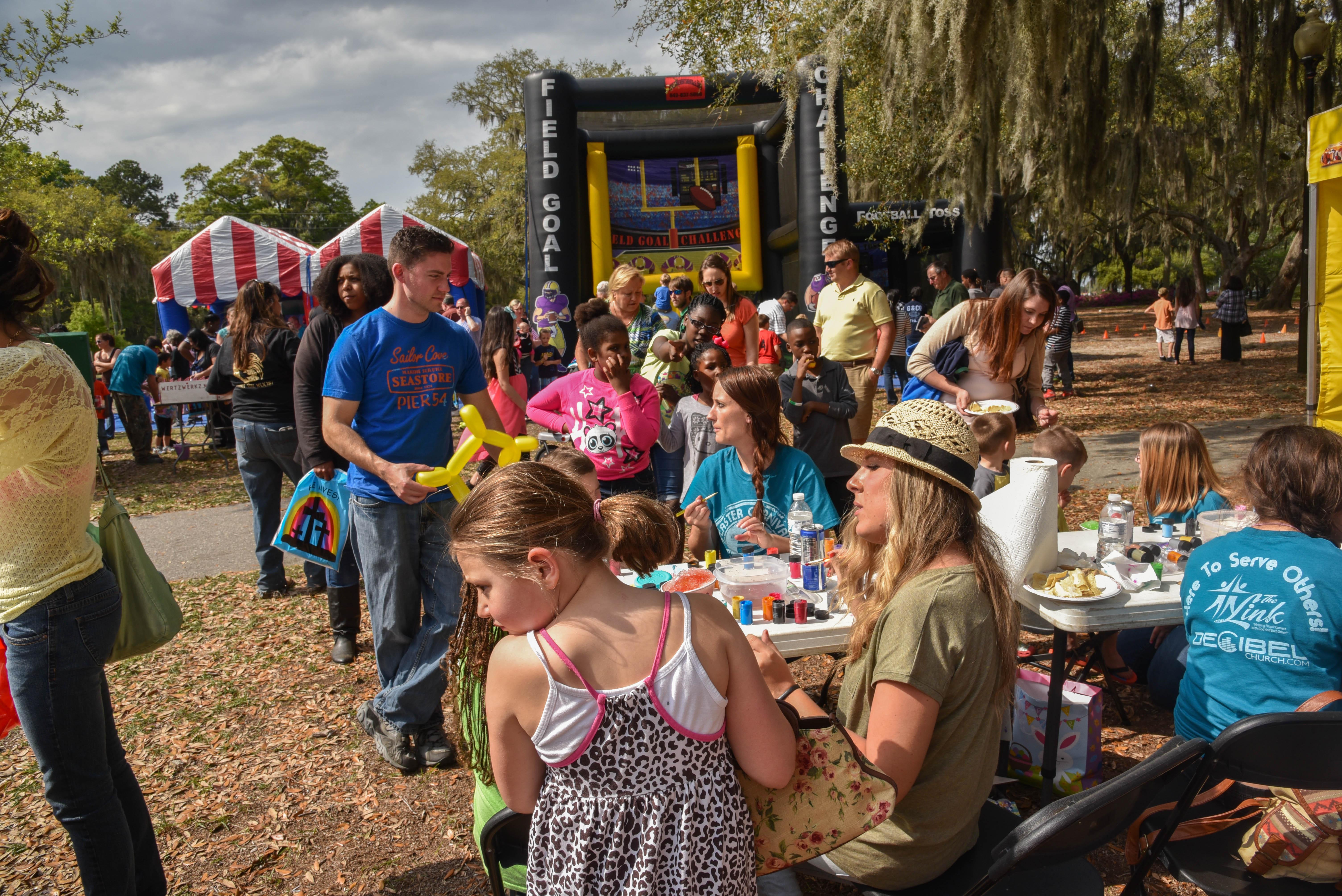 Carnival brings Easter fun to Port Royal u2022 Beaufort SC Best Local u0026 Visitors Guide