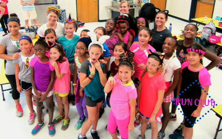 Port Royal Elementary Girls Run Club ready to fly at Saturday's Super Hero 5K