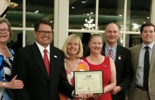 Area business leaders honored with Civitas Awards by Beaufort Regional Chamber  Photo courtesy Peach Morrison