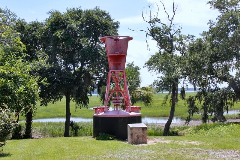 Port Royal's traveling buoy