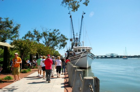 Henry C. Chambers Waterfront Park offers a variety of things to enjoy during a lazy Beaufort afternoon.