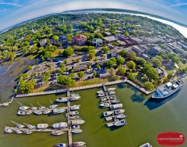 Beaufort, SC from the air, by Eric R. Smith