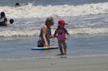 Enjoy a picnic, build a sand castle, and splash in some waves at a local beach.