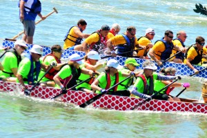 The 3rd Annual DragonBoat Race Day took to the water on Saturday morning