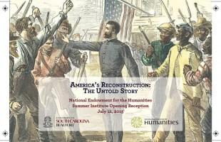 USCB Institute on America's Reconstruction attracting educators from around U.S.
