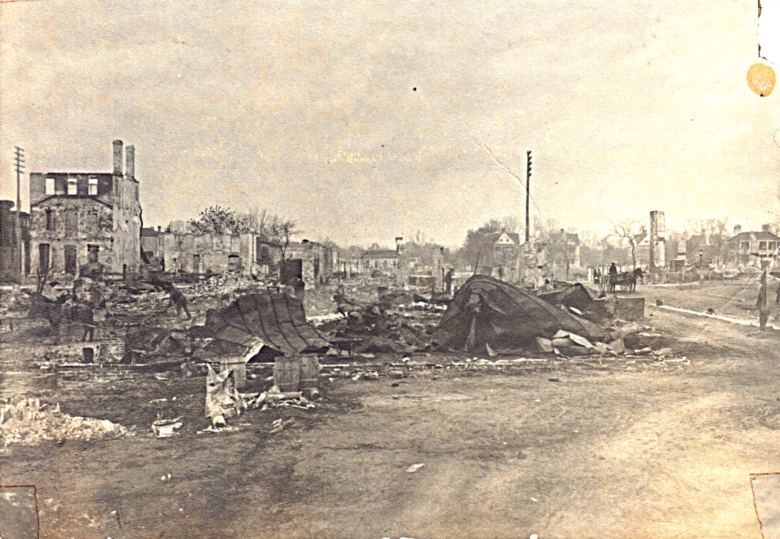 The Story of the Great Fire of Beaufort