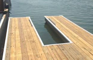 Habersham installs launch for paddle boards, kayaks