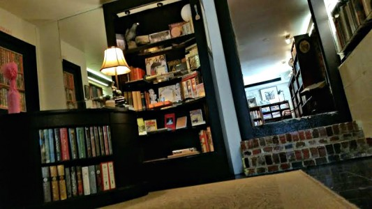 Check out Nevermore Books on downtown's Carteret Street