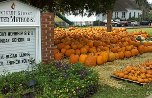 Carteret Street UMC's annual Pumpkin Patch and Fall Bazaar coming