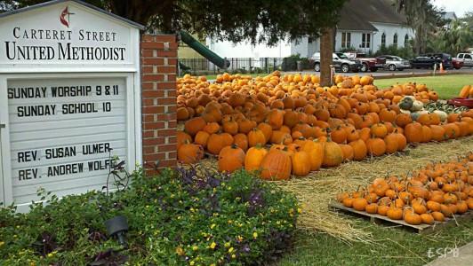 Carteret Street UMC's annual Pumpkin Patch and Fall Bazaar coming