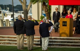 Beaufort remembers September 11th with ceremony (video)