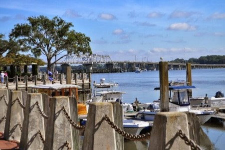Downtown Beaufort Marina and Waterfront Park. Photo by Dawn Ramsey