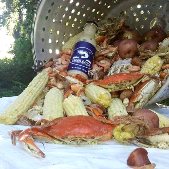 New local 'Creek Sauce' changing the taste of the Lowcountry  Photo courtesy Kyle Strickland