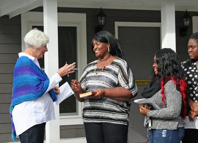 Lowcountry habitat for humanity dedicates its 43rd local home for Affordable furniture 43rd