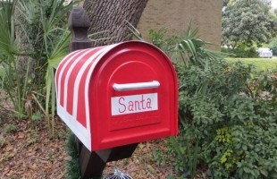 Drop your letter to Santa at Beaufort area fire stations
