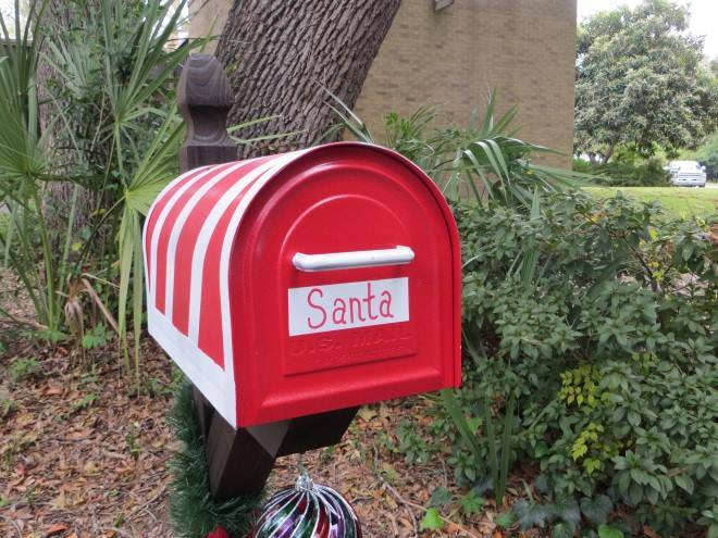 letter to Santa at Beaufort fire stations