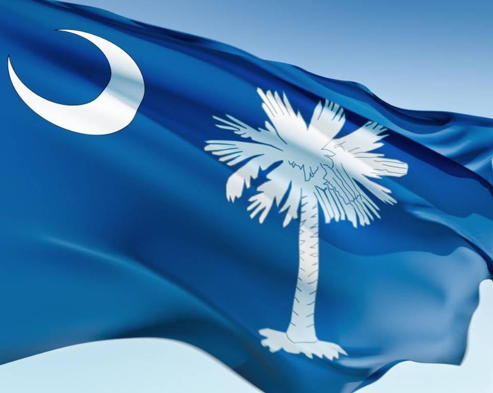 Yahoo! Travel names South Carolina state flag #1