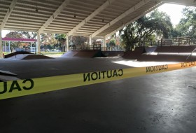 Port Royal upset with skate park vandals.  Photo courtesy Town of Port Royal