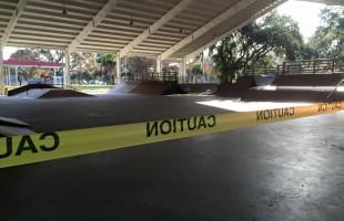 Port Royal upset with skate park vandals.  Photo courtesy Town of Port Royal