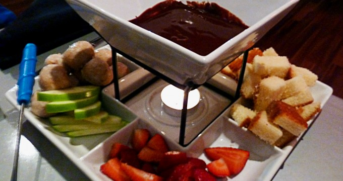 Enjoy a local restaurant and even find some fondue.