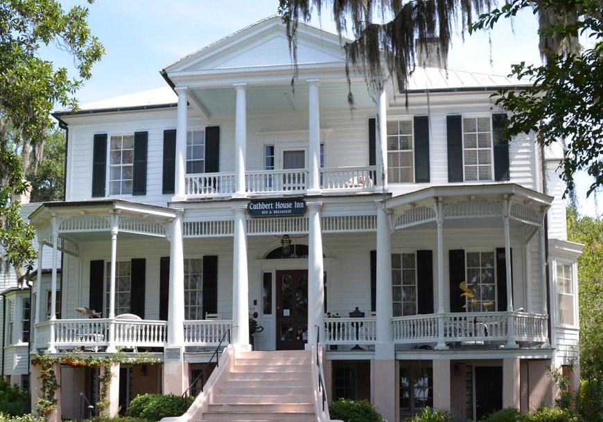 Cuthbert and rhett house inns earn aaa four diamond for Aaa fish house
