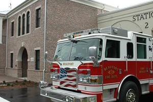 In November, the city took delivery of a new fire 75 foot ladder truck that is housed at the new station