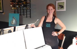 Meet a Local: Meet artist Emily Scott Pack and her Pop Up Paints