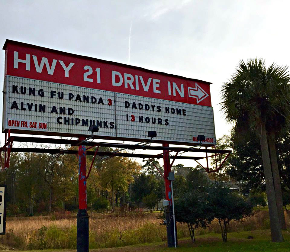 Making memories the old fashioned way at the Highway 21 Drive In