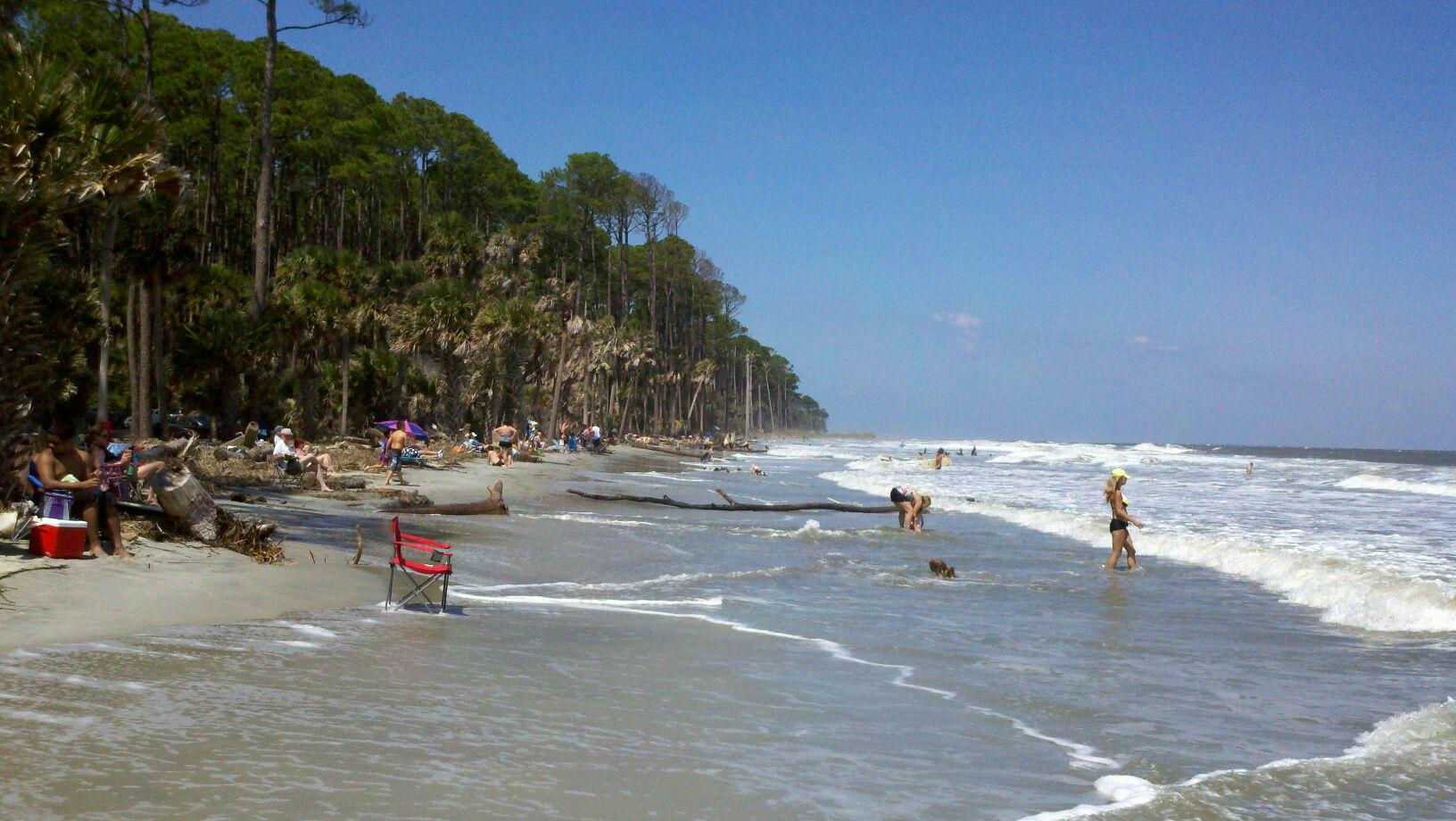 Hunting Island Beach Beaufort