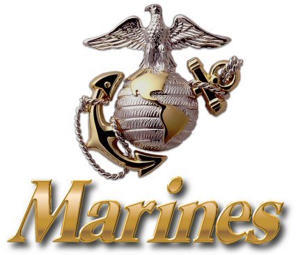 The Marine Corps emblem is as recognizable as any logo or anything we see. Photo by Solarmax