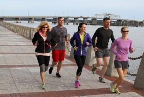 Get some exercise and discover local history with Beaufort Running Tours