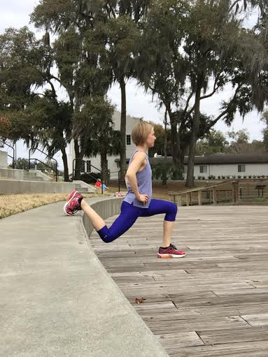 Try a circuit around the Cypress Wetlands trail and do some simple body weight strengthening exercises on the steps by the preserve.