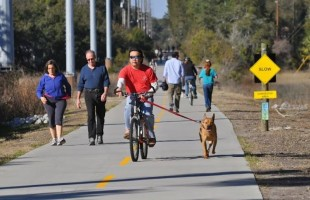 The Spanish Moss Trail is a great spot to get some exercise.