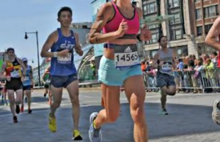 Local runner Denice Davis shines at Boston Marathon