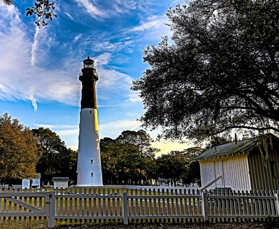 One of the most recognizable and most beloved landmarks in the Beaufort area is the historic Hunting Island Lighthouse. Photo courtesy Phil Heim