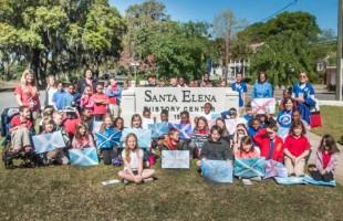 Elementary students visit new Santa Elena History Center