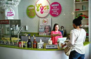 Yoyo's offers free parking tokens with frozen treats