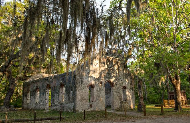 Built in 1740 and made of tabby, the chapel served the area until November of 1861. Photo courtesy Judy Rushing