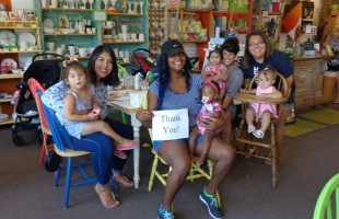 Paying it forward at Paints N Paradise