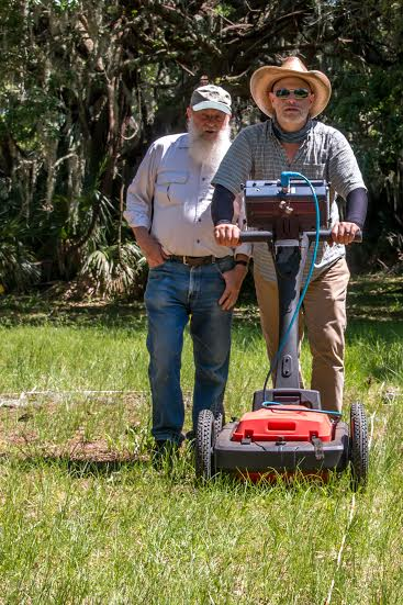 Using ground penetrating radar, soil resistivity and magnetometers, they sent radar pulses and electric currents into the ground and measured differences in local magnetic fields in search for the missing fort