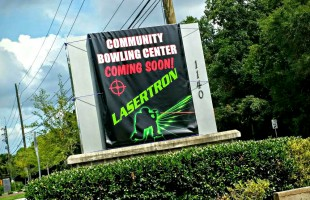 Laser tag arena to be added to Community Bowling Center.  ESPB photo