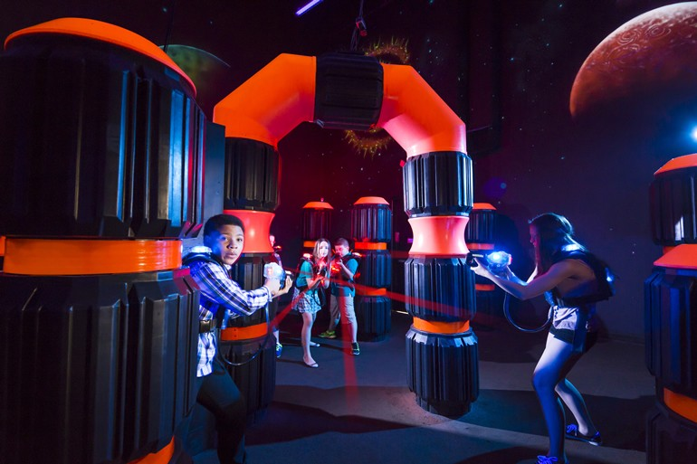Laser Tag Arena Opening In Beaufort