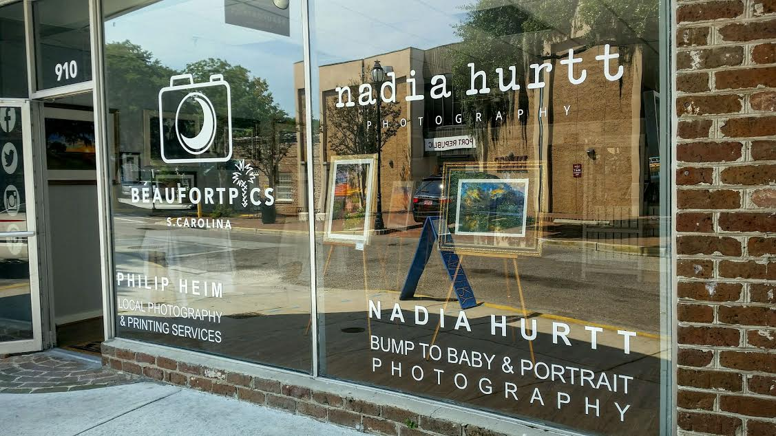 Nadia Hurtt Photography Studio opens this weekend in downtown Beaufort.  ESPB photo