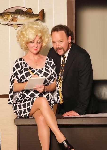 9 to 5 cast members Elaine Lake and Brad Ballington
