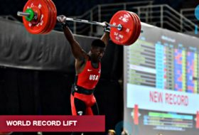 Beaufort's CJ Cummings smashes World Record and wins 3 Golds at Youth World Championships on Saturday