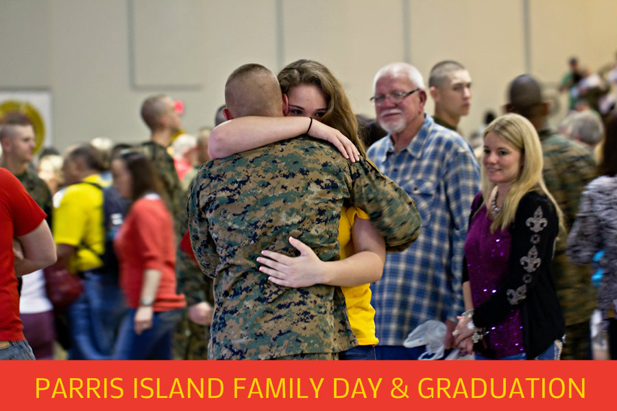 Parris Island Graduation and Family Day • Beaufort SC Best ...