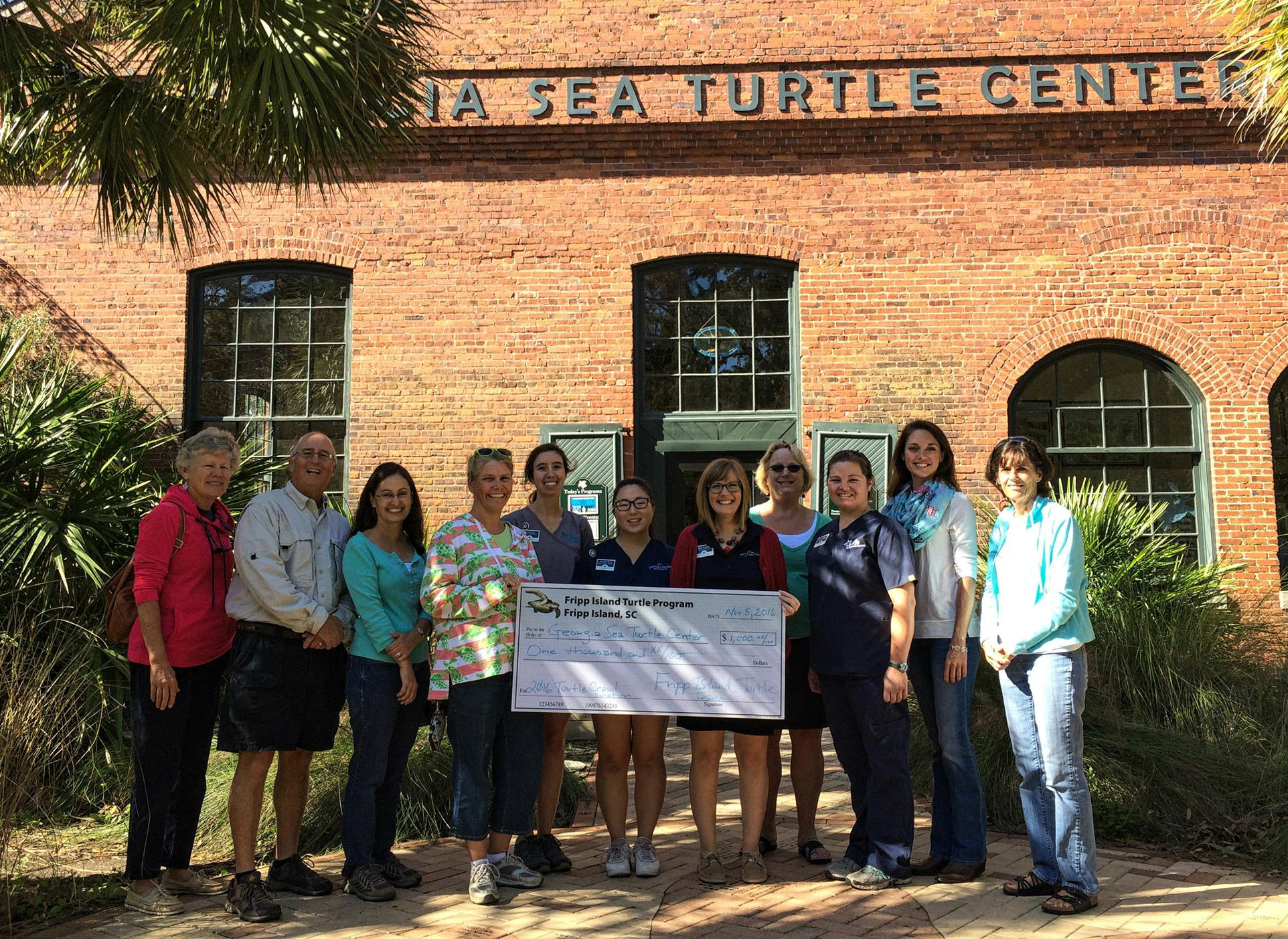 Fripp Turtle Team Donates Big To Other Regional