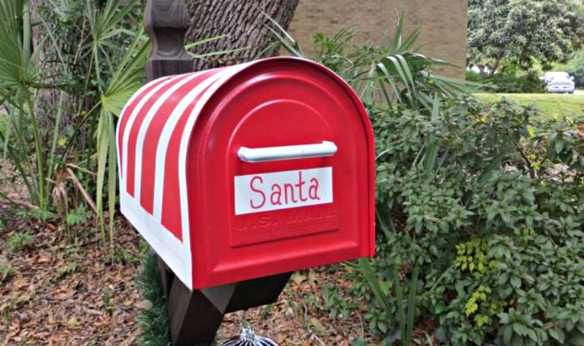 letter to Santa Beaufort fire stations
